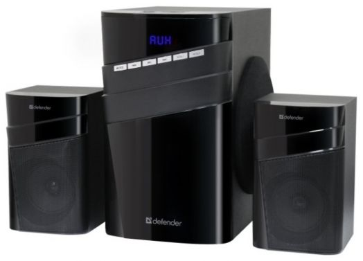Мультимедийные колонки 2.1 Defender X400 40Вт, Bluetooth FM/MP3/SD/USB