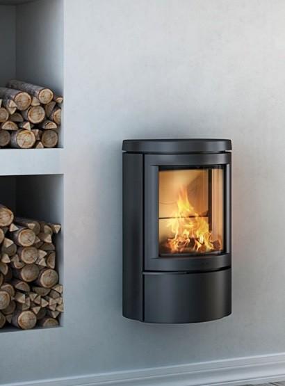 Отопительная печь HWAM 2620с, цвет черный/серый