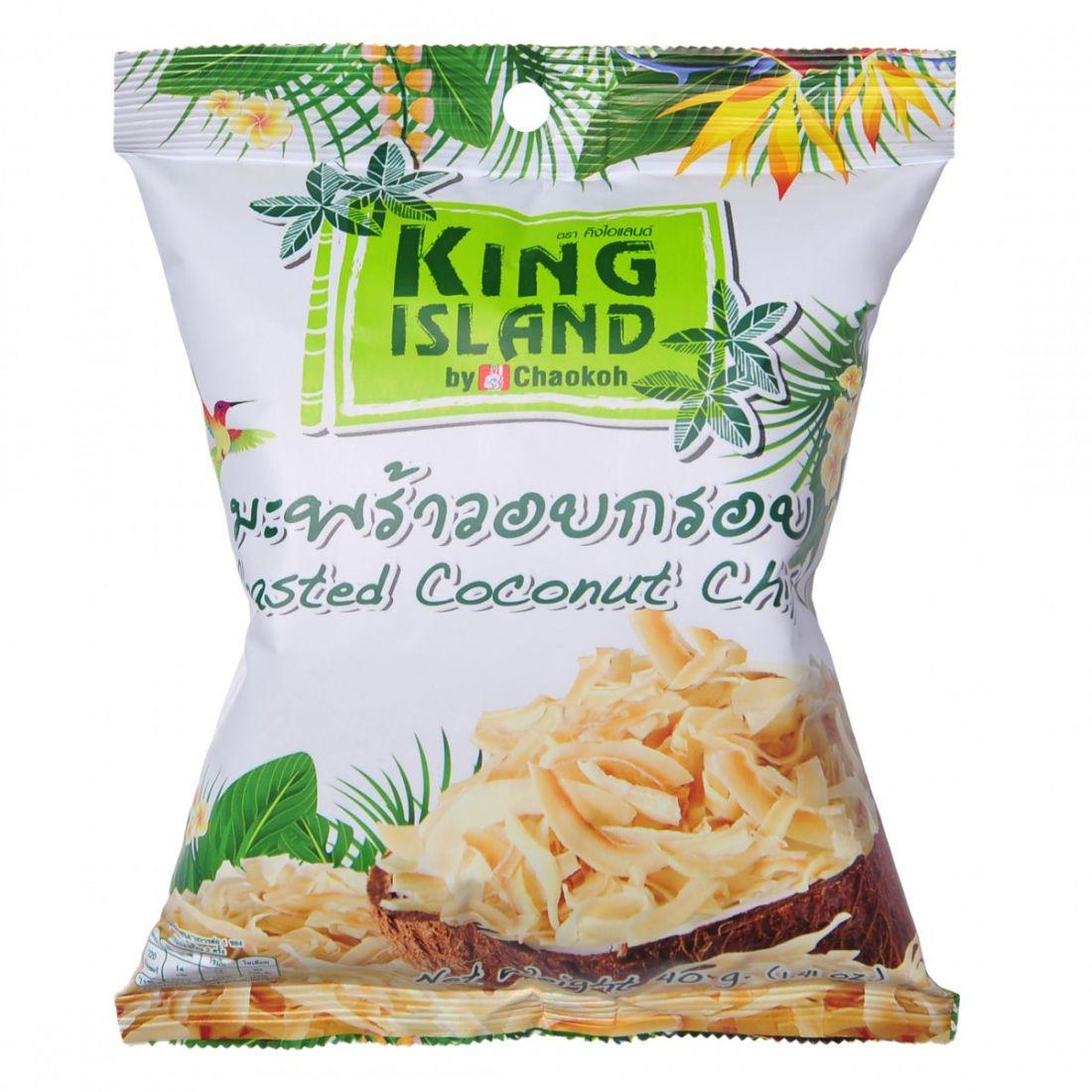 Кокосовые чипсы King Island - 40 гр