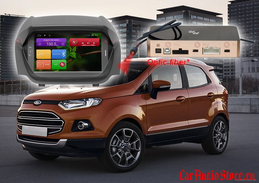 RedPower 31250 IPS DVD Ford Ecosport (ANDROID 7)