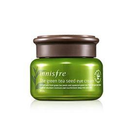 INNISFREE Green tea seed eye cream 30ml - Увлажняющий питательный крем для кожи вокруг глаз с легкой и нежной текстурой