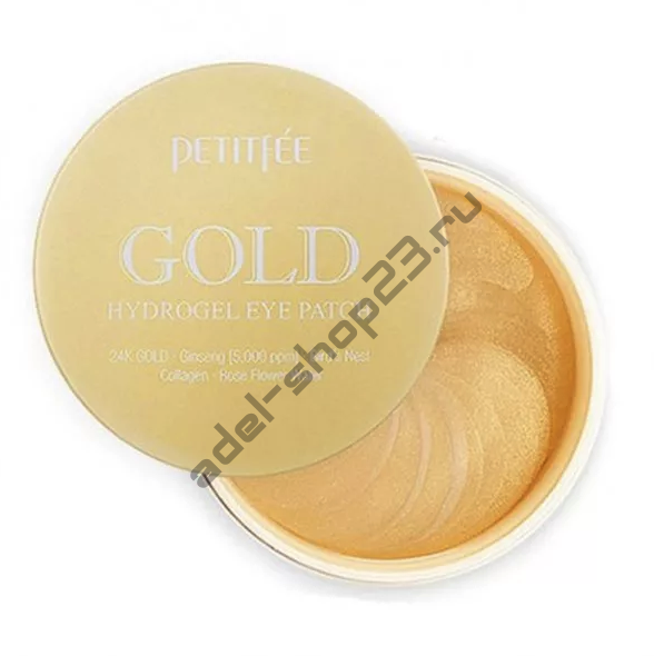 "PETITFEE - Патчи для глаз ""Gold Hydrogel Eye Patch"""