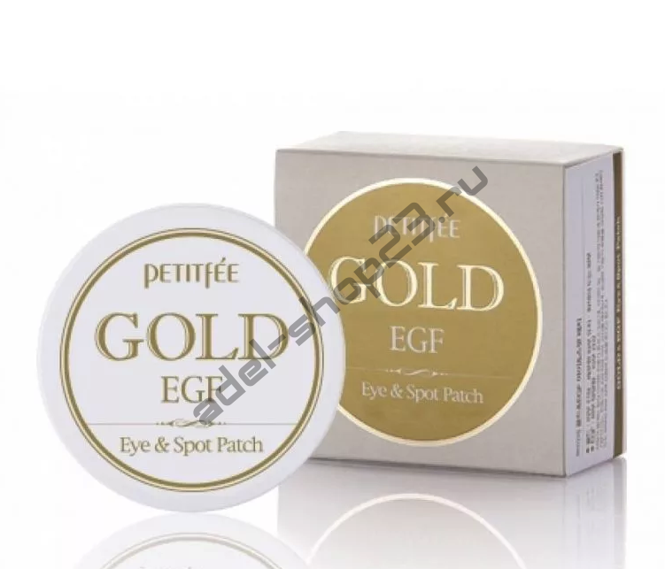 "PETITFEE - Патчи для глаз ""Gold & EGF Eye Patch"""