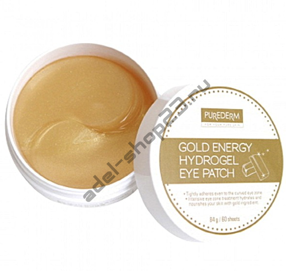 "PUREDERM - Патчи для глаз ""Gold Energy Hydrogel Eye Patch"""
