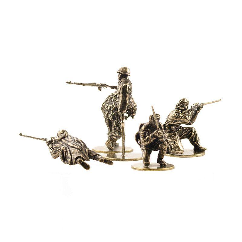 """Набор солдатиков """"Советские снайперы""""(5шт, 1:35)"""