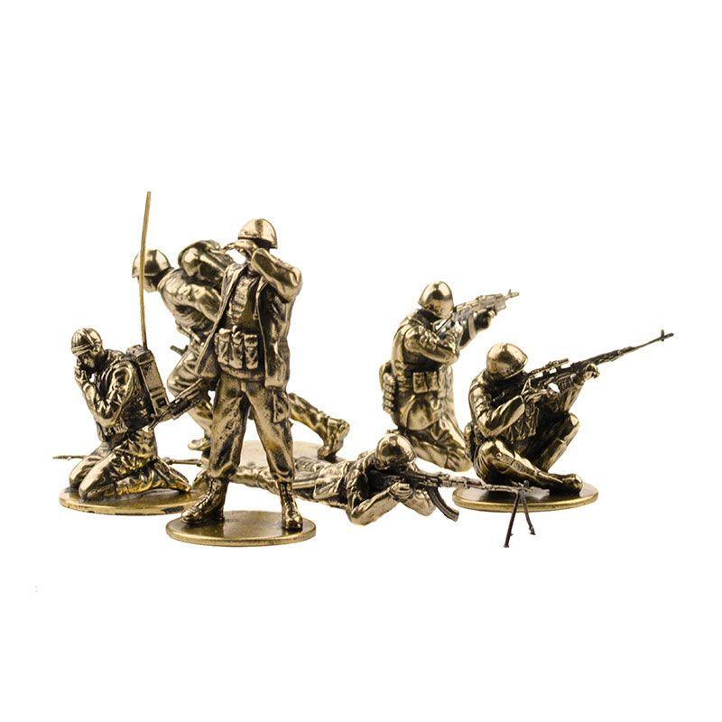 """Набор солдатиков """"Советские десантники в Афганистане""""(6шт, 1:35)"""