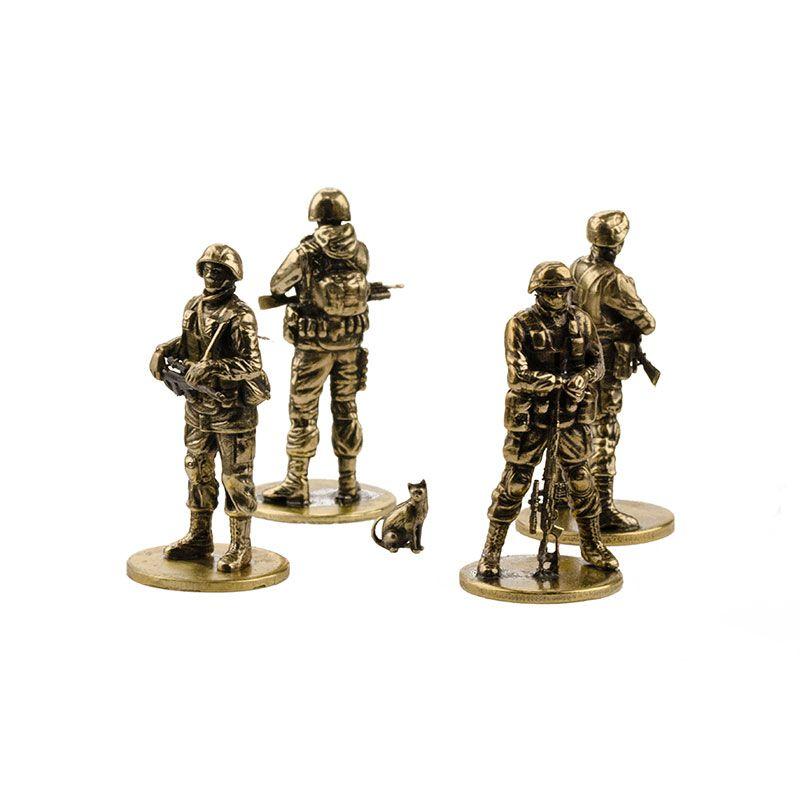 "Набор солдатиков ""Вежливая армия""(4шт, 1:35)"