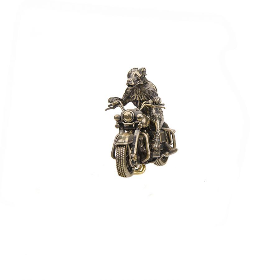 "Мотоцикл ""Harley Davidson Road King"" с псом"