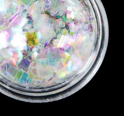 Дизайн для ногтей №3 камифубики неон квадрат