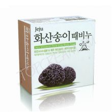 Jeju Volcanic Scoria Body Soap Мыло с вулканическим пеплом 85гр