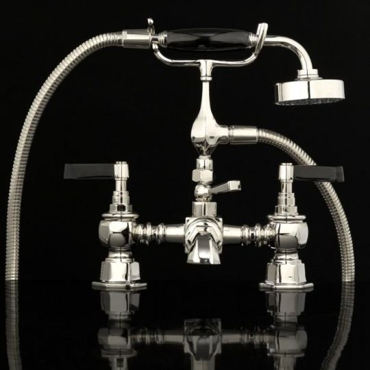 Devon&Devon Jubilee Black Lever для ванны/душа adjbl30