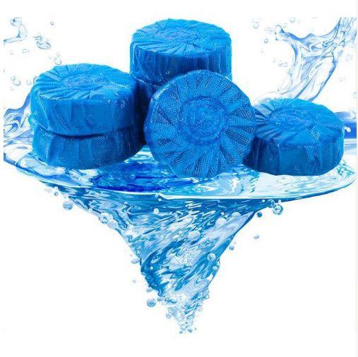 Чистящие таблетки для сливного бочка унитаза Blue Bubble, 6 шт