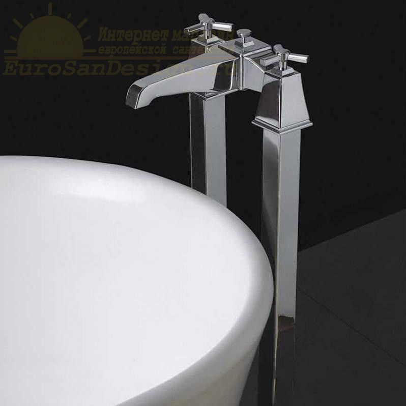 Смеситель для ванны и душа Devon&Devon Time 2TIME235 ФОТО