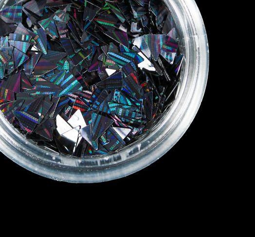 Камифубуки для дизайна ногтей, лазерные, цвет черный