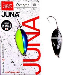 Блесна колеблющаяся Lucky John Juna 2,5 гр / 30 мм / цвет: 021
