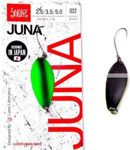 Блесна колеблющаяся Lucky John Juna 2,5 гр / 30 мм / цвет: 022