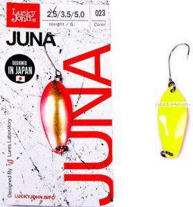 Блесна колеблющаяся Lucky John Juna 2,5 гр / 30 мм / цвет: 023