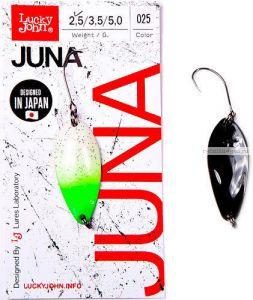 Блесна колеблющаяся Lucky John Juna 2,5 гр / 30 мм / цвет: 025