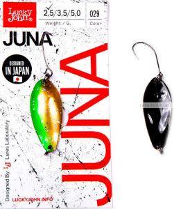 Блесна колеблющаяся Lucky John Juna 2,5 гр / 30 мм / цвет: 029