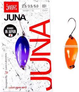 Блесна колеблющаяся Lucky John Juna 2,5 гр / 30 мм / цвет: 031