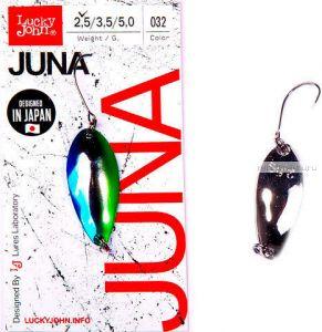 Блесна колеблющаяся Lucky John Juna 2,5 гр / 30 мм / цвет: 032