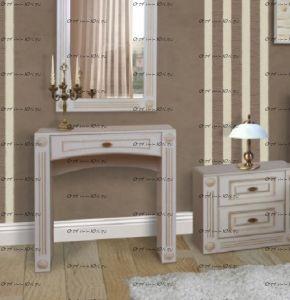 Стол туалетный Патиния, мод. 41 МДФ (78х42х82)