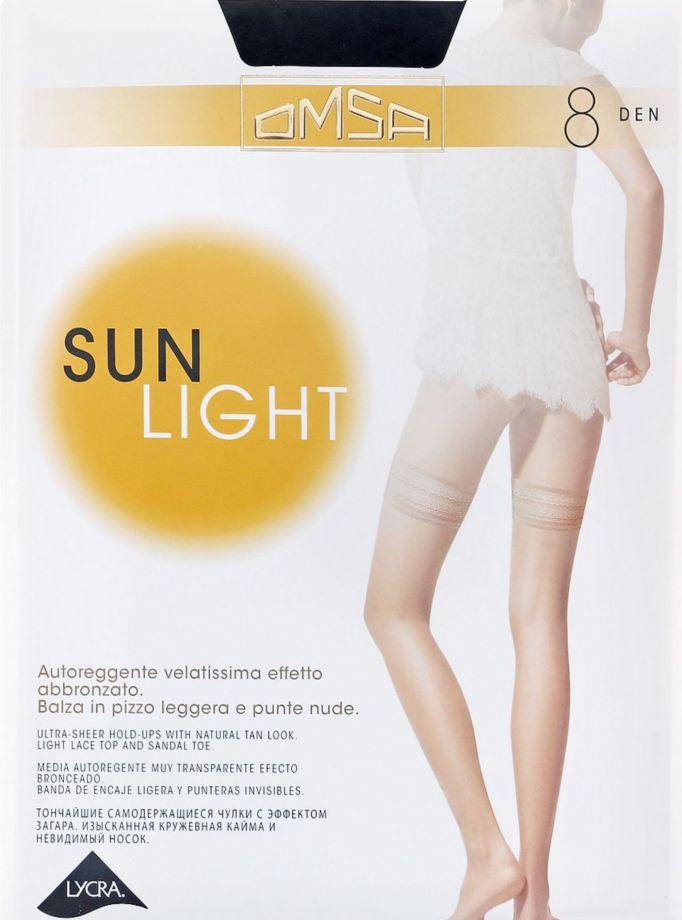 Чулки SUN LIGHT 8 Omsa