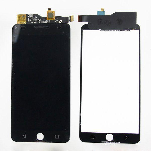 LCD (Дисплей) Alcatel 5022D One Touch POP Star (в сборе с тачскрином) (black) Оригинал