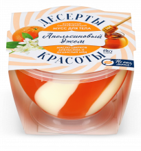 Мусс для тела «ДЕСЕРТЫ КРАСОТЫ» омолаживающий «Апельсиновый джем» 220мл