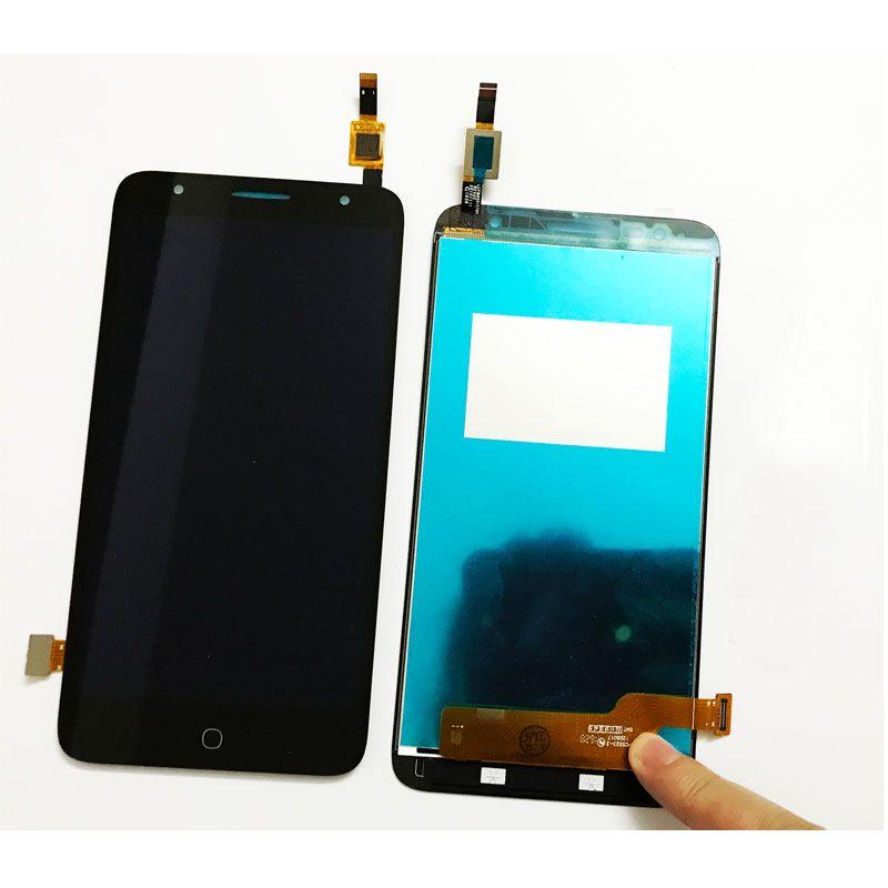 LCD (Дисплей) Alcatel 5056D POP 4 Plus (в сборе с тачскрином) (black) Оригинал