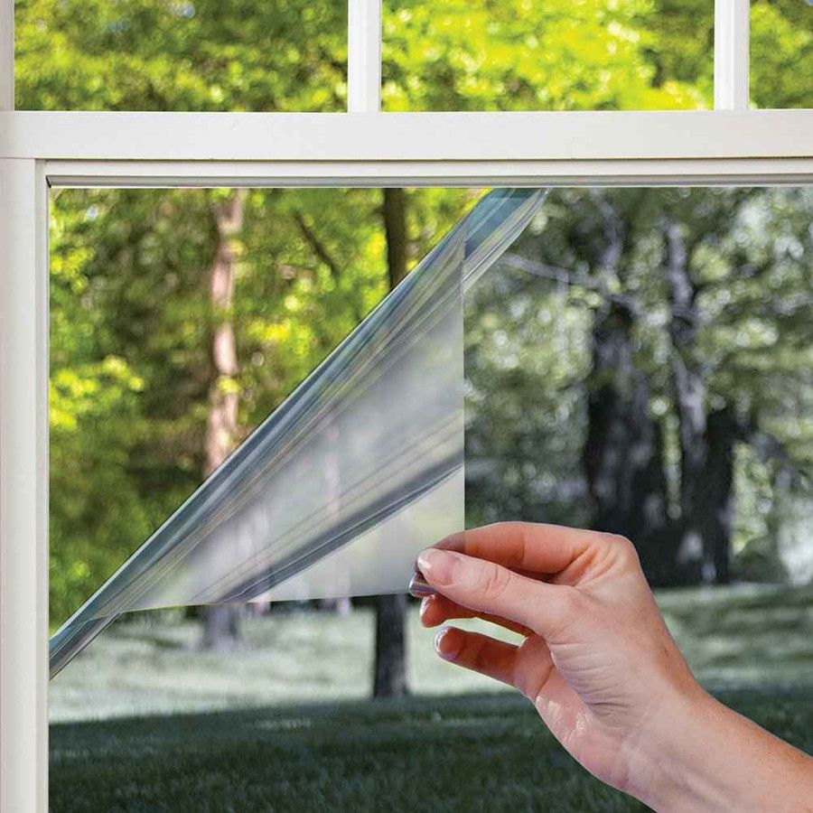 Пленка солнцезащитная зеркальная для окон - 60x150 см