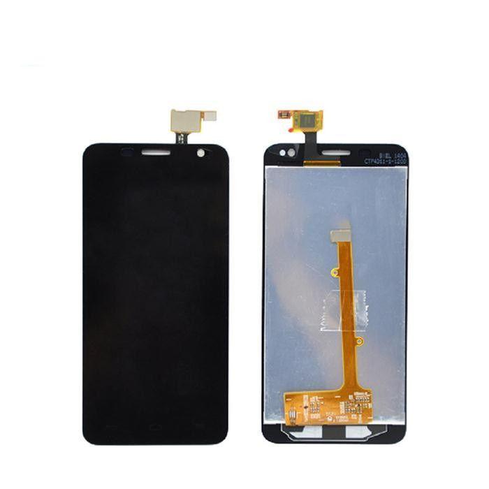 LCD (Дисплей) Alcatel 6012X Idol Mini/6012D Idol Mini (в сборе с тачскрином) (black)