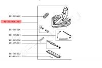 Щетка (насадка) для беспроводного пылесоса TEFAL (Тефаль) моделей TY8970, TY8971.  Артикул RS-2230001217