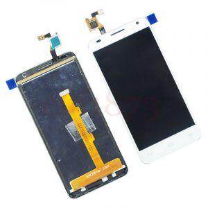 LCD (Дисплей) Alcatel 6036Y OneTouch Idol 2 Mini S (в сборе с тачскрином) (white) Оригинал