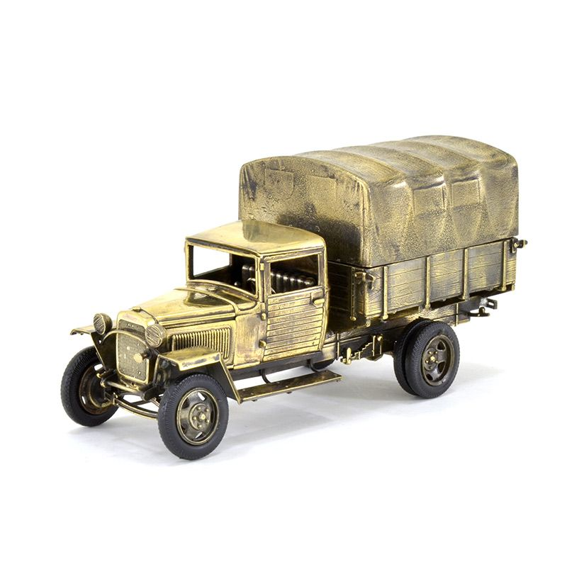 Модель советского армейского грузовика ГАЗ-ММ обр. 1943г(М 1:35)