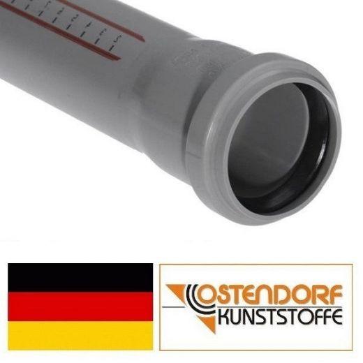Труба ПВХ Ostendorf Ф40/300мм. для внутренней канализации