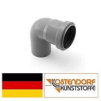 Колено для внутренней канализации 50х87* Ostendorf.