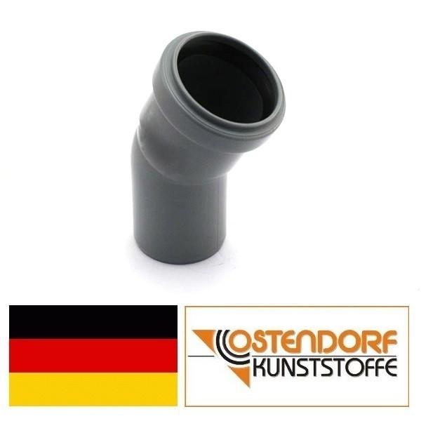 Колено для внутренней канализации 50х30* Ostendorf.