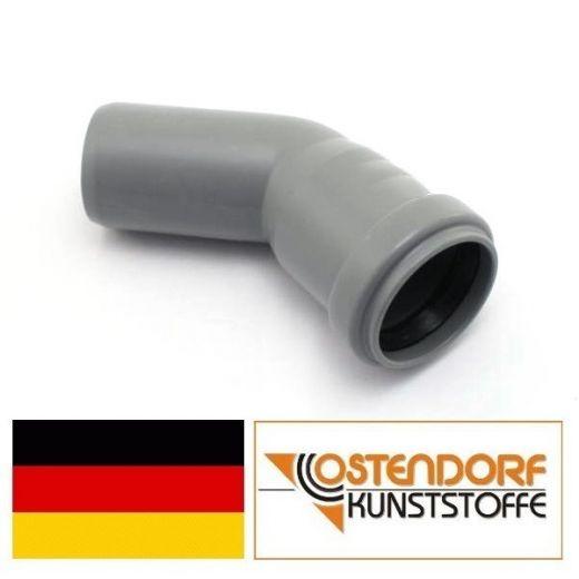 Колено для внутренней канализации 32х30* Ostendorf.