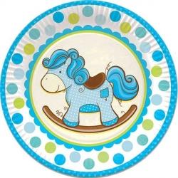 Тарелки с лошадкой для мальчика