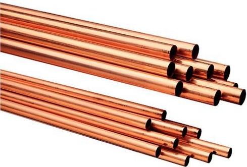 Труба медная SANCO неотожженная (штанга 5м.) Ф35*1,0
