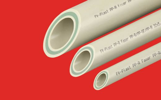Труба полипропиленовая PPR FV plast PN25 Ф25 Phaser (стекловолокно)