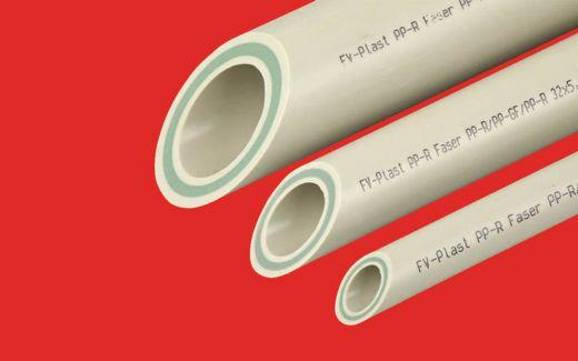 Труба полипропиленовая PPR FV plast PN25 Ф32 Phaser (стекловолокно)