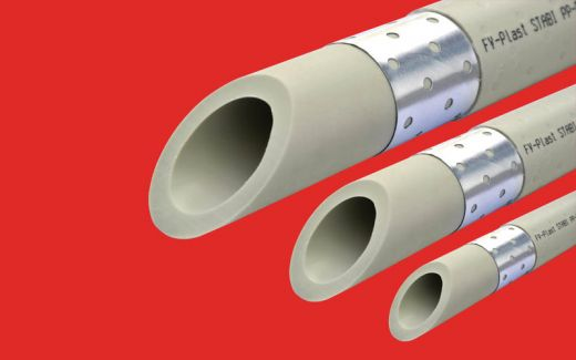Труба полипропиленовая PPR FV plast PN25 Ф20 Stabil (армированная)