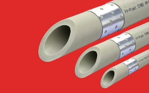 Труба полипропиленовая PPR FV plast PN25 Ф32 Stabil (армированная)