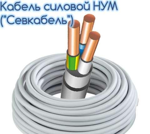 СЕВКАБЕЛЬ NYM 3*4 100м.