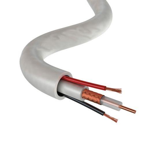 Кабель для систем видеонаблюдения КВК-В-2х0,75 96*0,12 PROconnect