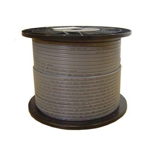 Саморегулируемый греющий кабель 24в экранированная SRF24-2CR/SRL24-2CR