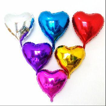 """Фольгированное сердце 18"""""""