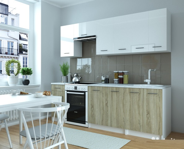 Кухня Альба 2400 мм